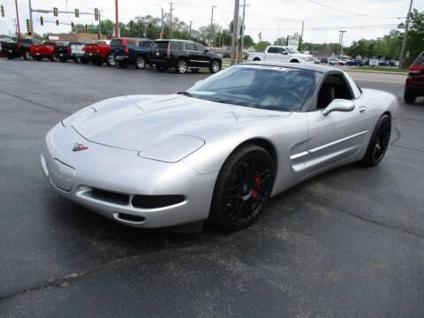 2004 Chevrolet Corvette for sale at Windsor Auto Sales - Nickey Camero in Loves Park IL