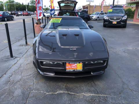 1989 Chevrolet Corvette for sale at RON'S AUTO SALES INC in Cicero IL