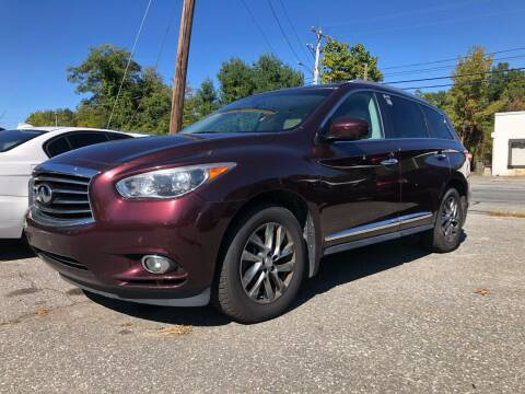 2013 Infiniti JX35 for sale at Top Line Import of Methuen in Methuen MA
