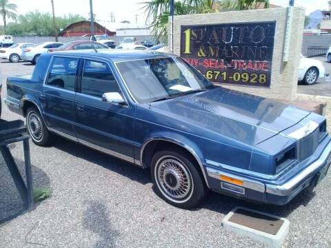 1991 Chrysler New Yorker for sale at 1ST AUTO & MARINE in Apache Junction AZ