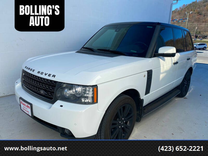 2011 Land Rover Range Rover for sale at BOLLING'S AUTO in Bristol TN
