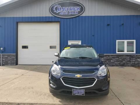 2017 Chevrolet Equinox for sale at Maverick Automotive in Arlington MN