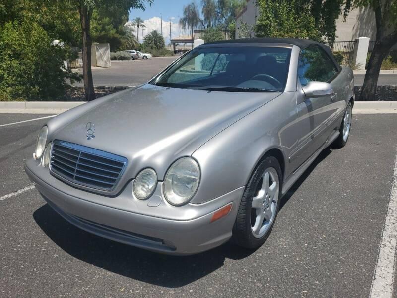 2003 Mercedes-Benz CLK for sale at DORAMO AUTO RESALE in Glendale AZ