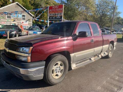 2003 Chevrolet Silverado 1500 for sale at Korz Auto Farm in Kansas City KS