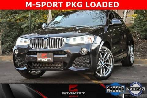 2018 BMW X4 for sale at Gravity Autos Atlanta in Atlanta GA