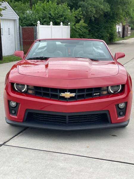 2013 Chevrolet Camaro for sale at Suburban Auto Sales LLC in Madison Heights MI