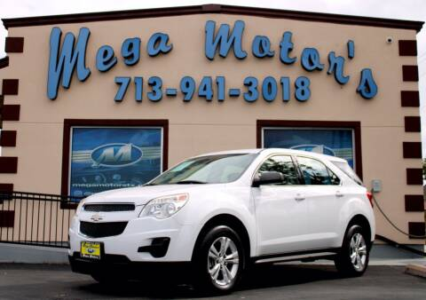 2013 Chevrolet Equinox for sale at MEGA MOTORS in South Houston TX