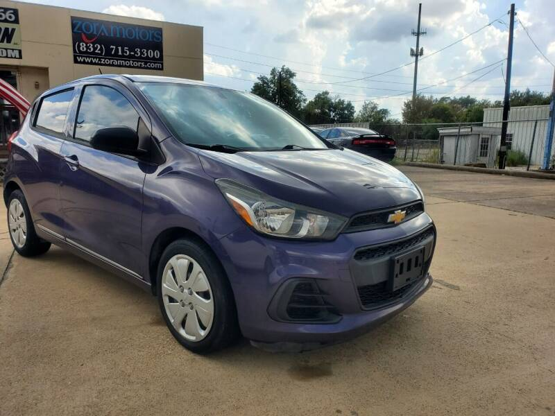 2016 Chevrolet Spark for sale at Zora Motors in Houston TX