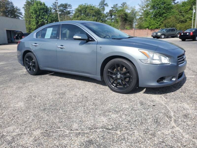 2010 Nissan Maxima for sale at Ron's Used Cars in Sumter SC