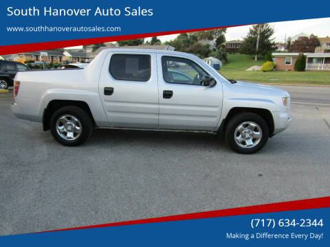 2006 Honda Ridgeline for sale at South Hanover Auto Sales in Hanover PA