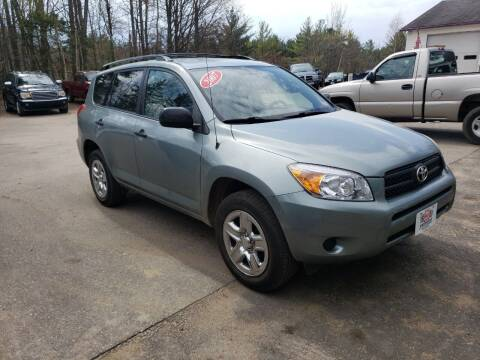 2007 Toyota RAV4 for sale at Winner's Circle Auto Sales in Tilton NH