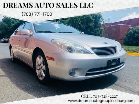 2006 Lexus ES 330 for sale at Dreams Auto Sales LLC in Leesburg VA