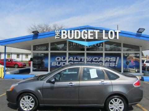 2011 Ford Focus for sale at THE BUDGET LOT in Detroit MI