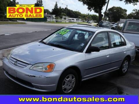 2002 Honda Civic for sale at Bond Auto Sales in St Petersburg FL