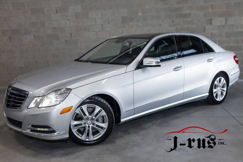 2011 Mercedes-Benz E-Class for sale at J-Rus Inc. in Macomb MI