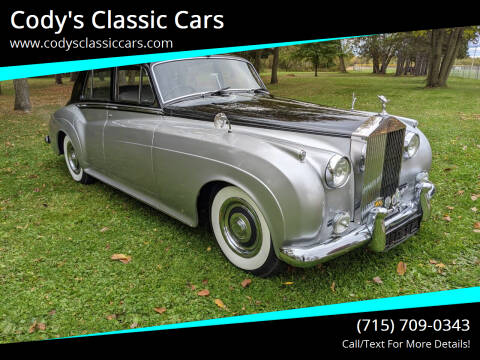 1958 Rolls-Royce Silver Cloud 1 for sale at Cody's Classic Cars in Stanley WI