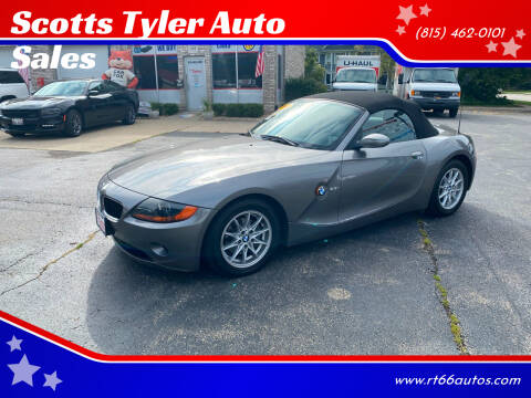 2003 BMW Z4 for sale at Scotts Tyler Auto Sales in Wilmington IL
