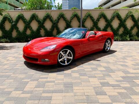 2008 Chevrolet Corvette for sale at ROGERS MOTORCARS in Houston TX