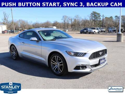 2017 Ford Mustang for sale at Stanley Ford Gilmer in Gilmer TX