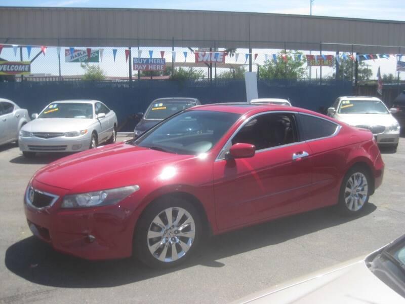 2008 Honda Accord for sale at Town and Country Motors - 1702 East Van Buren Street in Phoenix AZ