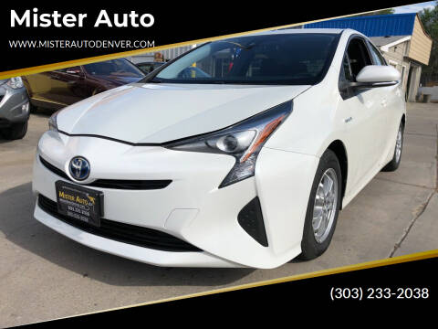 2017 Toyota Prius for sale at Mister Auto in Lakewood CO