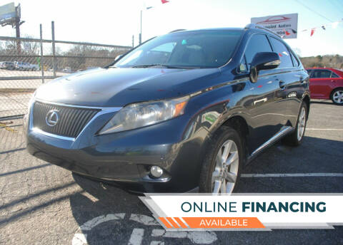 2010 Lexus RX 350 for sale at Lakepoint Autos in Cartersville GA