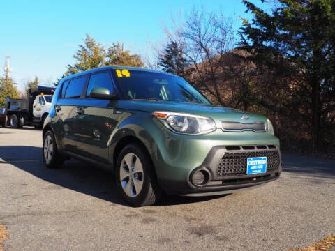 2014 Kia Soul for sale at Crestwood Auto Sales in Swansea MA