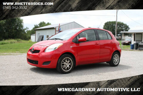 2009 Toyota Yaris for sale at WINEGARDNER AUTOMOTIVE LLC in New Lexington OH