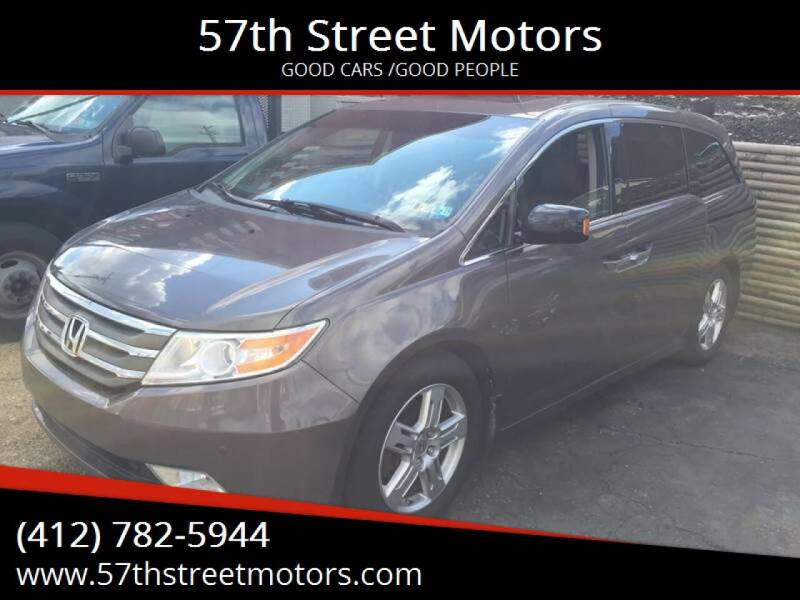 2012 Honda Odyssey for sale at 57th Street Motors in Pittsburgh PA
