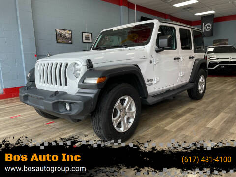 2018 Jeep Wrangler Unlimited for sale at Bos Auto Inc in Quincy MA