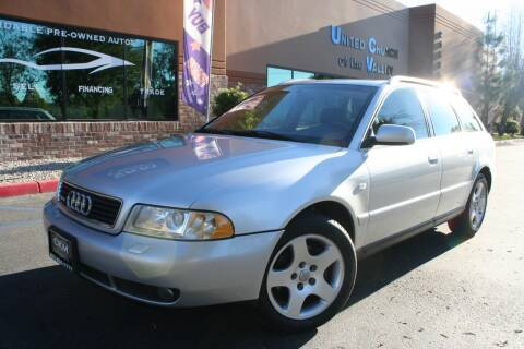 2001 Audi A4 for sale at CK Motors in Murrieta CA