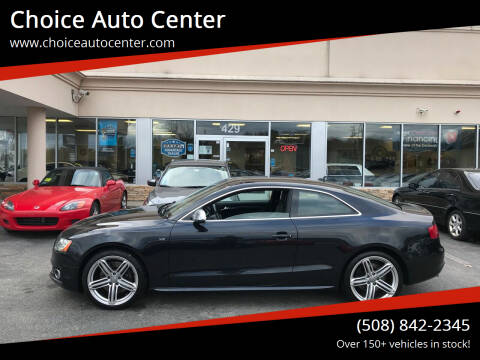 2011 Audi S5 for sale at Choice Auto Center in Shrewsbury MA