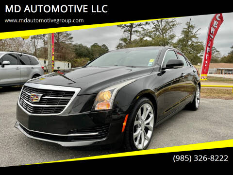 2015 Cadillac ATS for sale at MD AUTOMOTIVE LLC in Slidell LA
