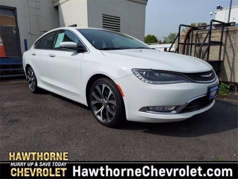 2016 Chrysler 200 for sale at Hawthorne Chevrolet in Hawthorne NJ