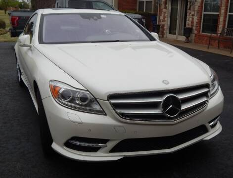 2014 Mercedes-Benz CL-Class for sale at Iconic Motors of Oklahoma City, LLC in Oklahoma City OK