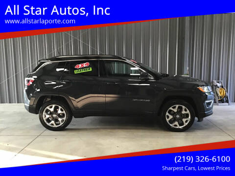 2018 Jeep Compass for sale at All Star Autos, Inc in La Porte IN