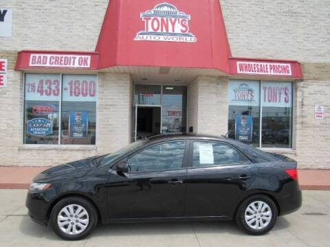 2010 Kia Forte for sale at Tony's Auto World in Cleveland OH