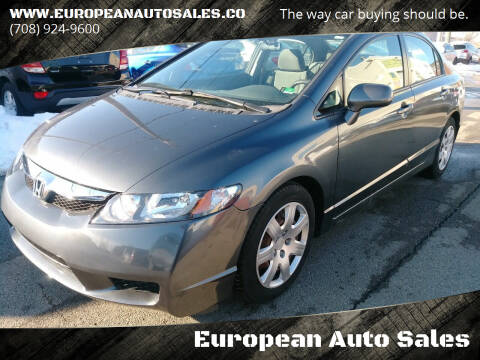 2010 Honda Civic for sale at European Auto Sales in Bridgeview IL