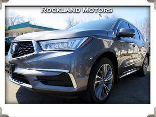 2018 Acura MDX for sale at Rockland Automall - Rockland Motors in West Nyack NY