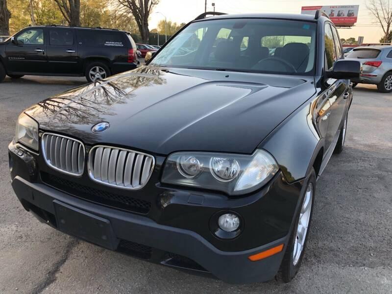 2008 BMW X3 for sale at Atlantic Auto Sales in Garner NC
