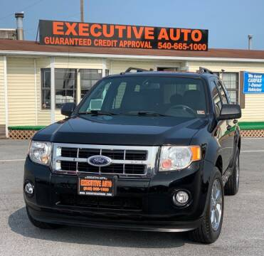 2009 Ford Escape for sale at Executive Auto in Winchester VA