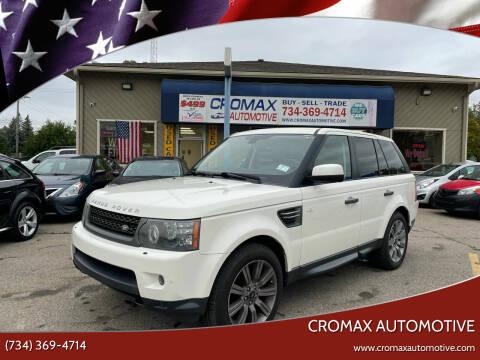 2010 Land Rover Range Rover Sport for sale at Cromax Automotive in Ann Arbor MI