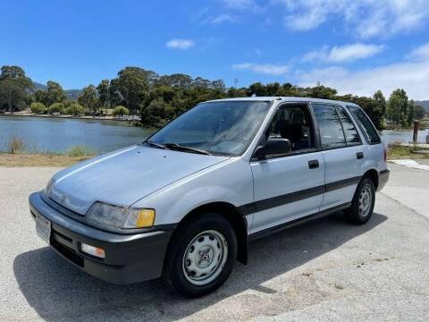 1990 Honda Civic for sale at Dodi Auto Sales in Monterey CA