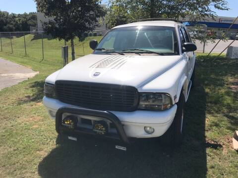 1999 Dodge Durango for sale at Nash's Auto Sales Used Car Dealer in Milton FL