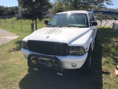 1999 Dodge Durango for sale at Nash's Auto Sales Used Car Dealer in Milton FL
