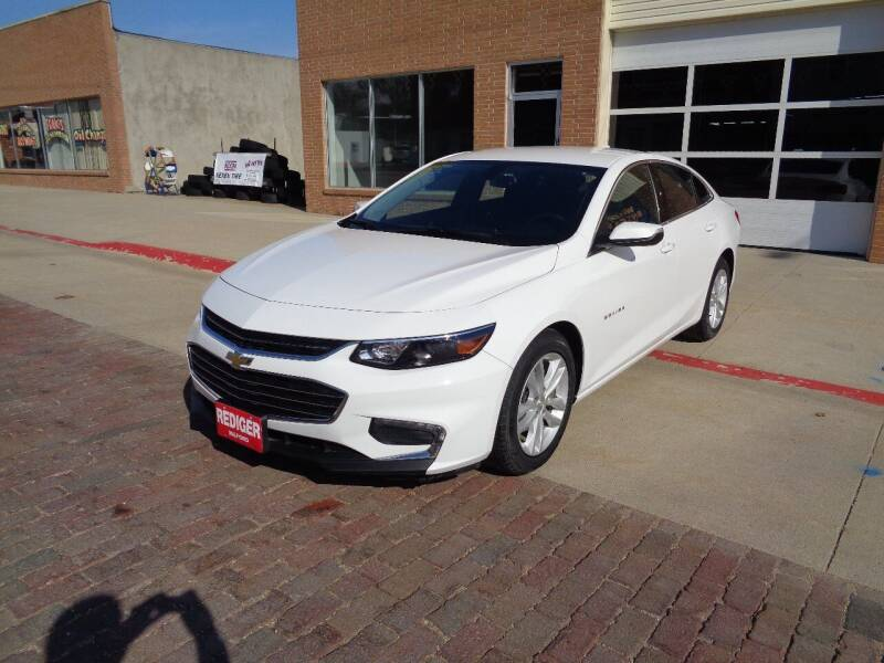 2018 Chevrolet Malibu for sale at Rediger Automotive in Milford NE