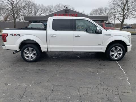 2015 Ford F-150 for sale at Hawkins Motors Sales in Hillsdale MI