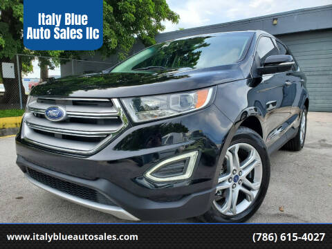 2016 Ford Edge for sale at Italy Blue Auto Sales llc in Miami FL