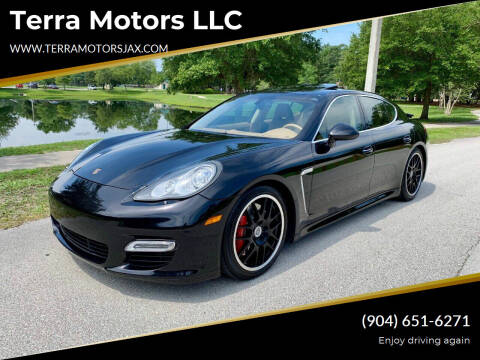 2010 Porsche Panamera for sale at Terra Motors LLC in Jacksonville FL