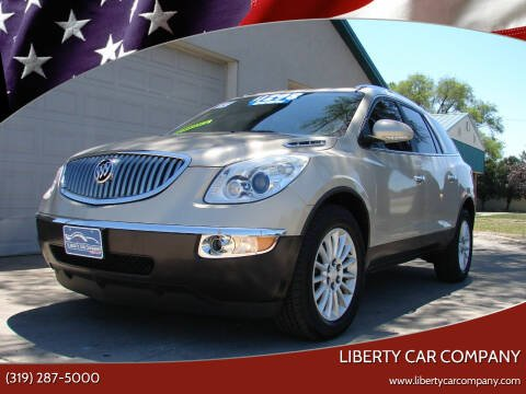 2012 Buick Enclave for sale at Liberty Car Company - II in Waterloo IA